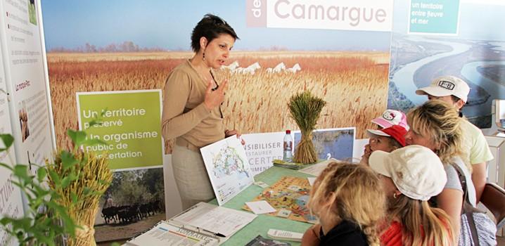 Conception d'un éco-stand pour Parc Naturel Régional de Camargue