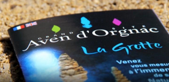 L'AVEN D'ORGNAC, classé Grand Site de France, choisit Canopée pour sa Communication