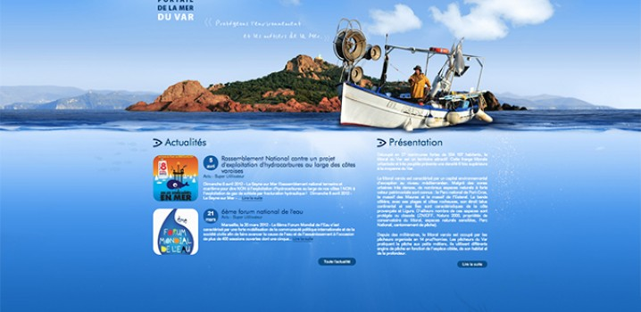 Prochainement un portail de la mer, pour les pêcheurs Varois