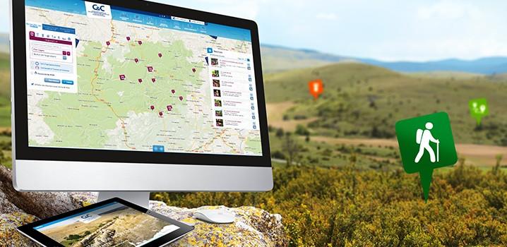 Un site de destination des Causses et Cévennes sur quatre départements