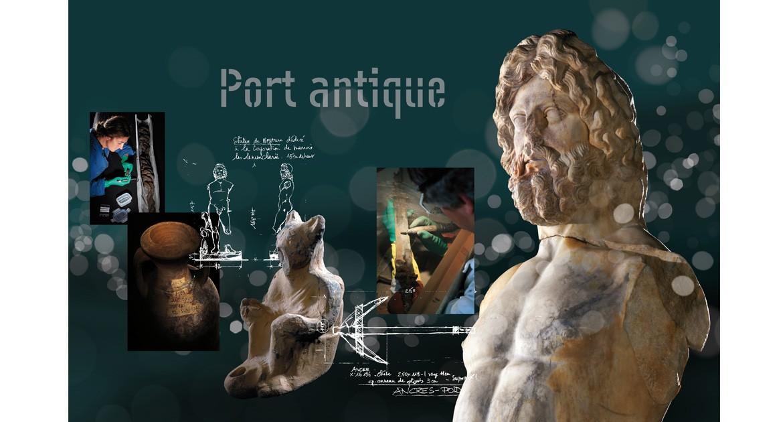Supports scénographiques pour le musée de l'Arles antique