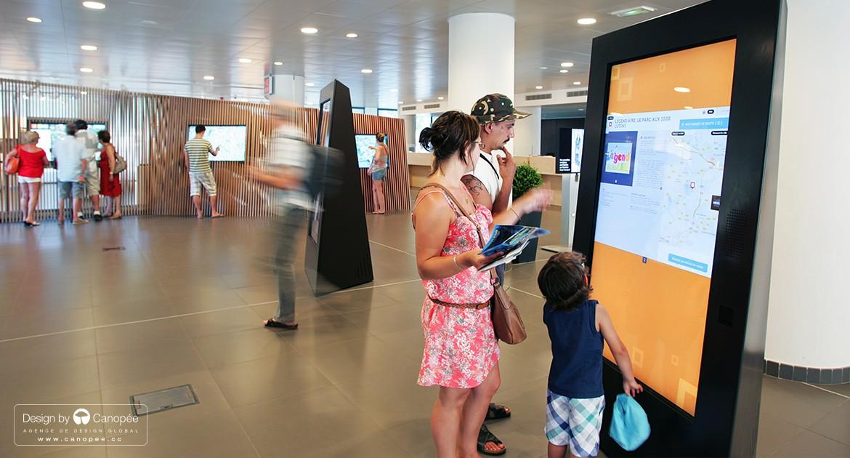 Office de tourisme haute d finition agence design canop e - Office de tourisme aix en provence ...