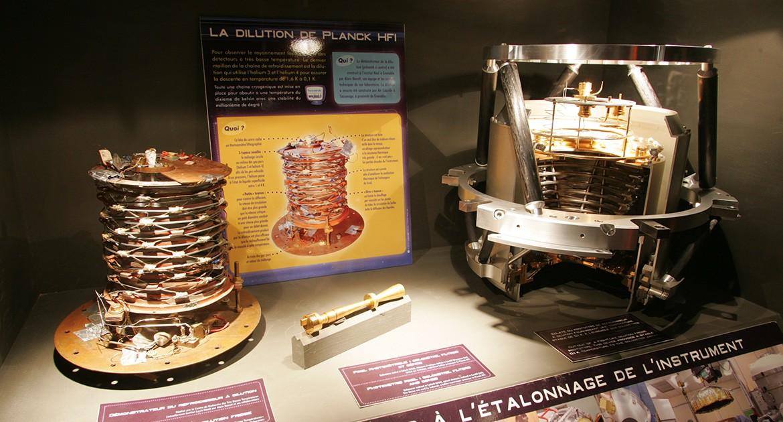 Exposition itinérante Planck HFI