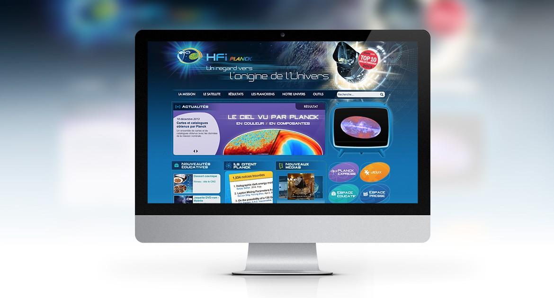 Site web de médiation scientifique