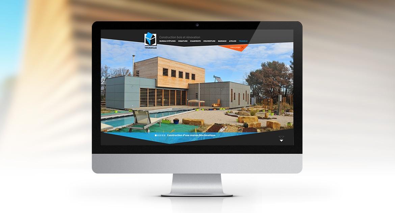 Site vitrine pour des professionnels de la construction