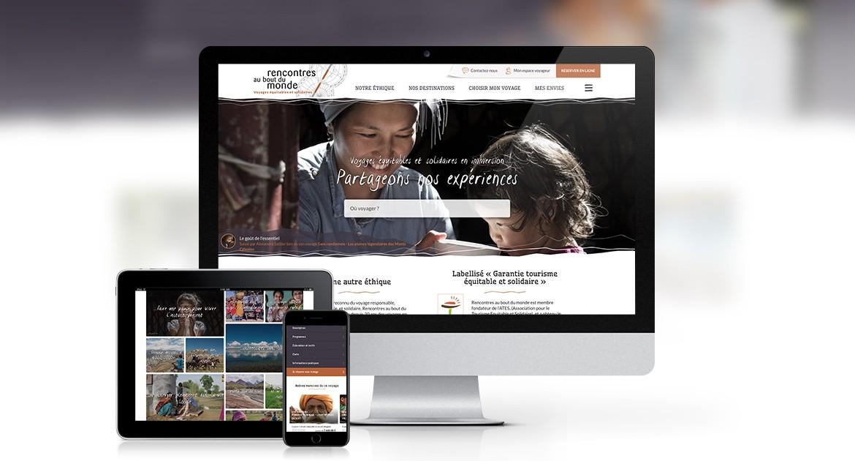 Site e-commerce de voyages équitables