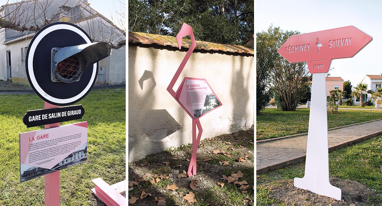 Parcours culturel urbain «Fil rose»